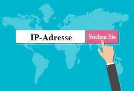 VR IP Adresse Blau